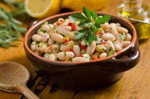 Greek Bean Salad-min